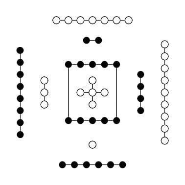 生成數,朱熹當作是古代的《河圖》。(公共領域)