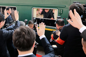 金正恩訪華不坐飛機選搭火車 竟是這個原因
