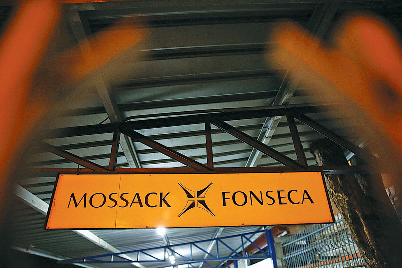 4月初,「巴拿馬文件」洩密案使巴拿馬的莫薩克.馮賽卡(Mossack Fonseca)法律事務所成為輿論風暴點。(Getty Images)