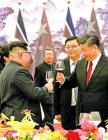 台灣問題 促北京急邀金正恩訪華