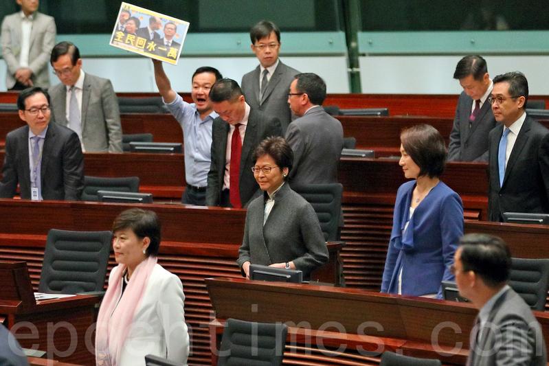 林鄭答問會議員聚焦民生