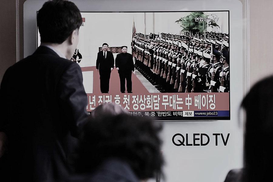 金正恩訪華拋無核化方案 韓媒:老調重彈