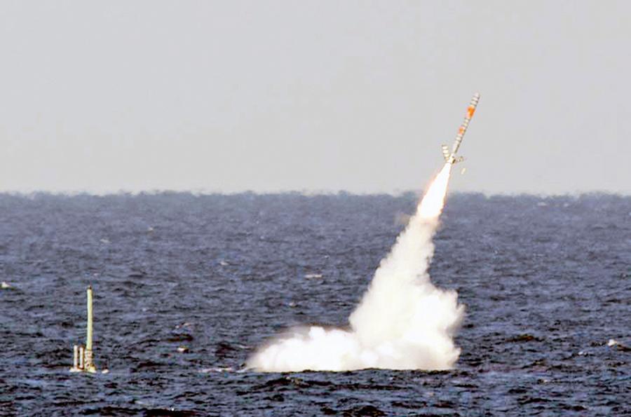 美維珍尼亞級攻擊潛艇可射核彈