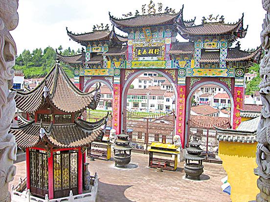 九華山肉身寺(維基百科公有領域)