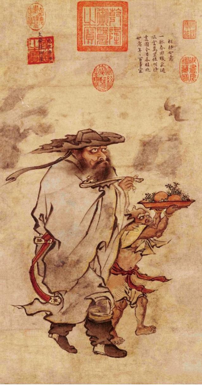 明憲宗 朱見深《歲朝佳兆圖》 (北京故宫博物院藏)。