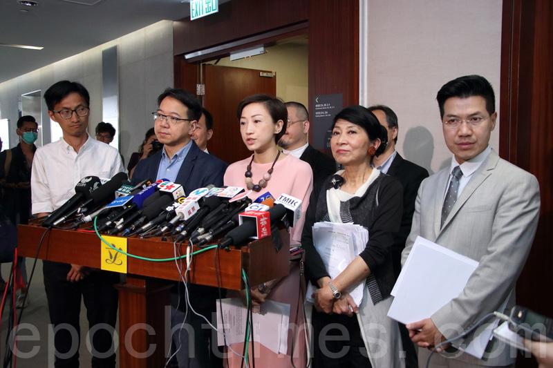 一地兩檢條例草委會流會 民主派強調拒違基本法
