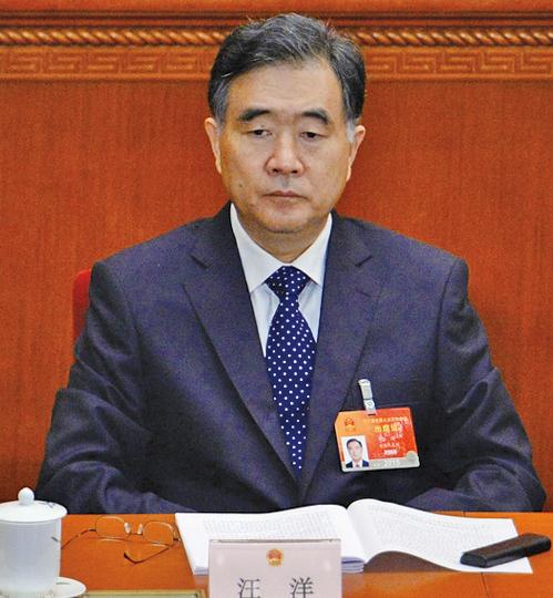 內幕解析:政協主席汪洋罕見參加中財委會議