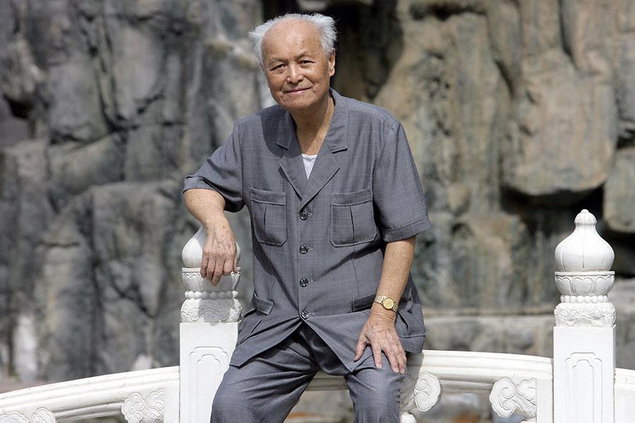 毛澤東前秘書,中共元老李銳因身體不適,多種器官衰竭在加護病房治療,圖為李銳2006年舊照。(GOH CHAI HIN/AFP/Getty Images)