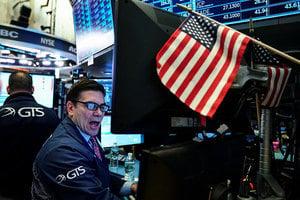 貿易戰疑慮減 美股大逆轉 道指回漲超700點