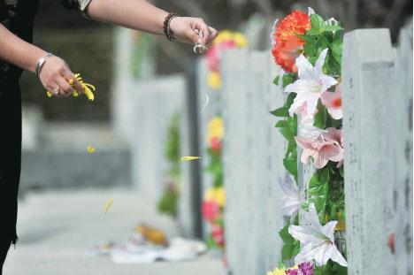 寒食清明節與端午節是中國兩大紀念性節日。(AFP/Getty Images)