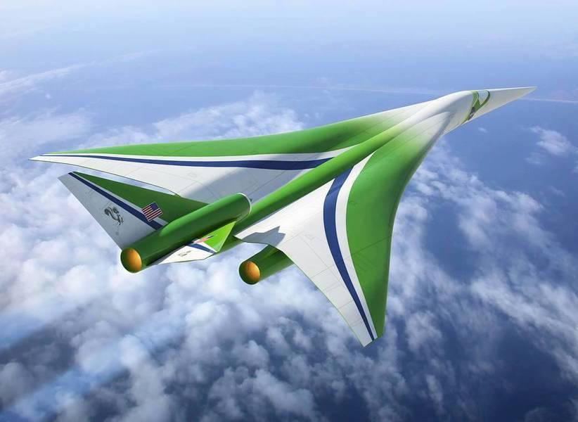 NASA打造超音速飛機 紐約到倫敦只需3小時
