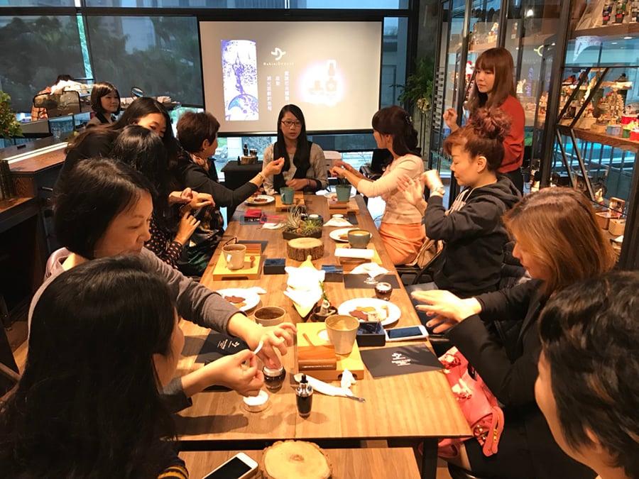 台灣舉辦過多場DakiniDeesse分享會,深獲女性青睞!