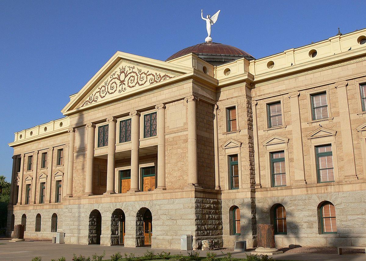 圖為亞利桑那州議會大廈。(維基百科)