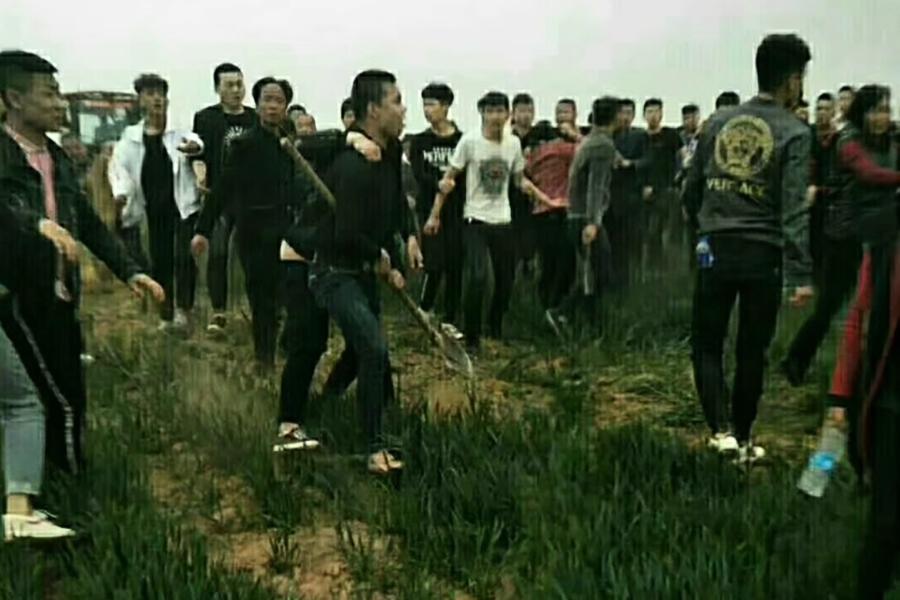 陝西官員率黑社會人員暴力徵地 釀命案