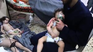 敘利亞化武攻擊平民 多國撻伐 法美強硬回應