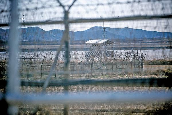 據消息人士透露,美朝正秘密直接會談甚至已會面,準備特朗普和金正恩的會面。圖為朝鮮半島非軍事區。(Jean Chung/Getty Images)