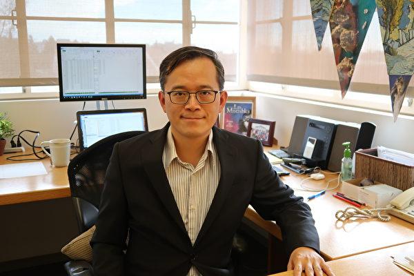 加州大學洛杉磯分校的經濟學家俞偉雄(William Yu)。(徐綉惠/大紀元)