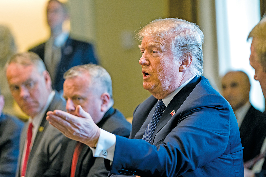 針對敘利亞對平民的化武襲擊,特朗普總統表示,將在接下來的24到48小時內做出一些重大決定,不排除任何選項。(Getty Images)