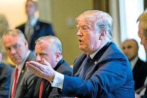 針對敘利亞對平民的化武襲擊  特朗普:未來2天內有重大決定