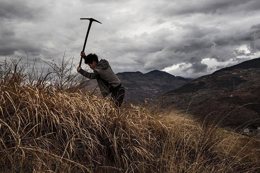 中共農業部長罕見承認 40年來農村蕭條凋敝