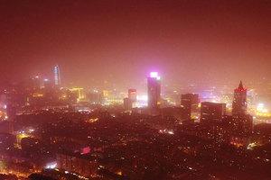 沙塵暴席捲中國北方 新疆遭遇風沙暴雪