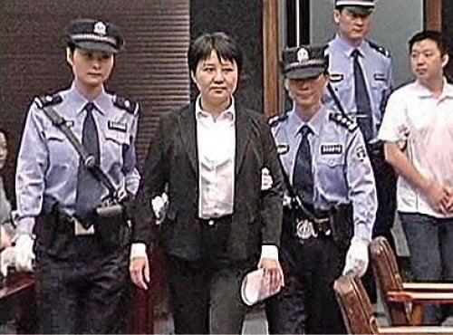 薄谷開來2012年被判死緩,她參與販賣屍體及人體器官罪惡被廣泛曝光。(網絡圖片)