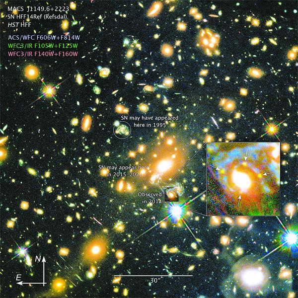 哈勃發現史上最遙遠恆星