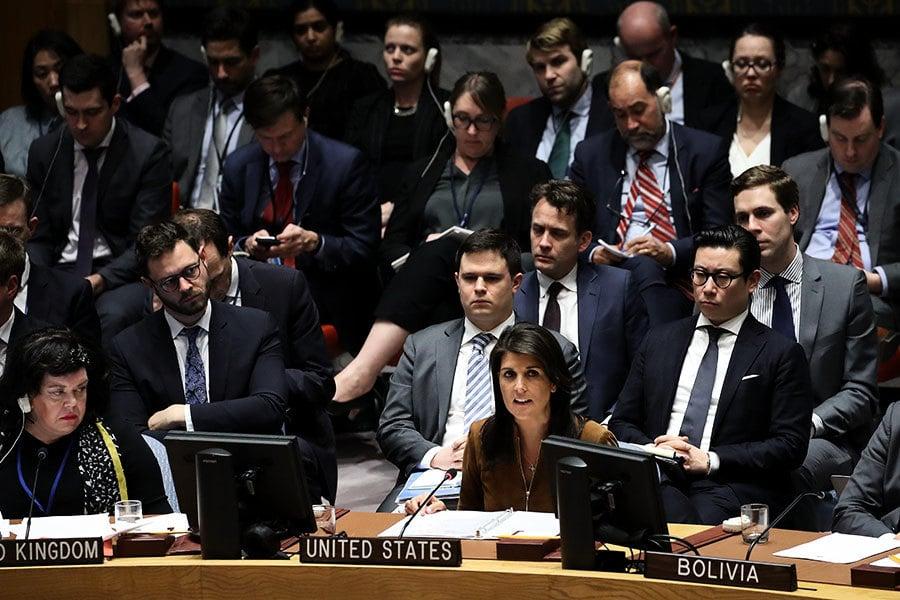 敘化武攻擊 俄否決美草案 美籲國際行動
