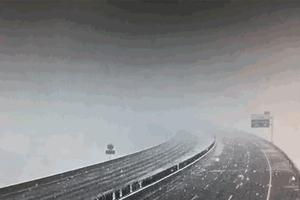 新疆北部突降大雪 氣溫驟降「瞬間入冬」