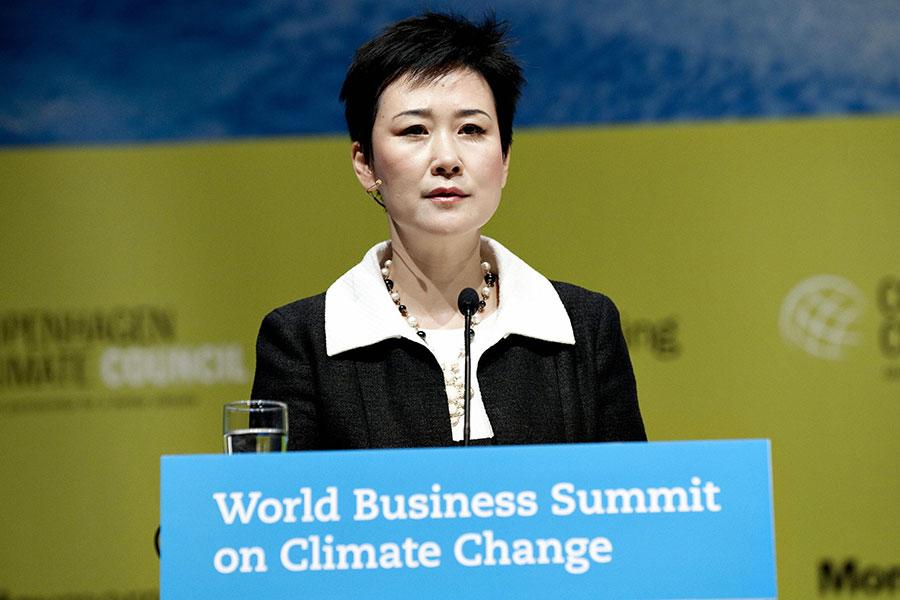 中共前總理李鵬之女李小琳正式卸任。(KELD NAVNTOFT/AFP/Getty Images)