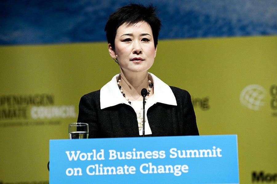 李小琳以新身份出席博鰲論壇