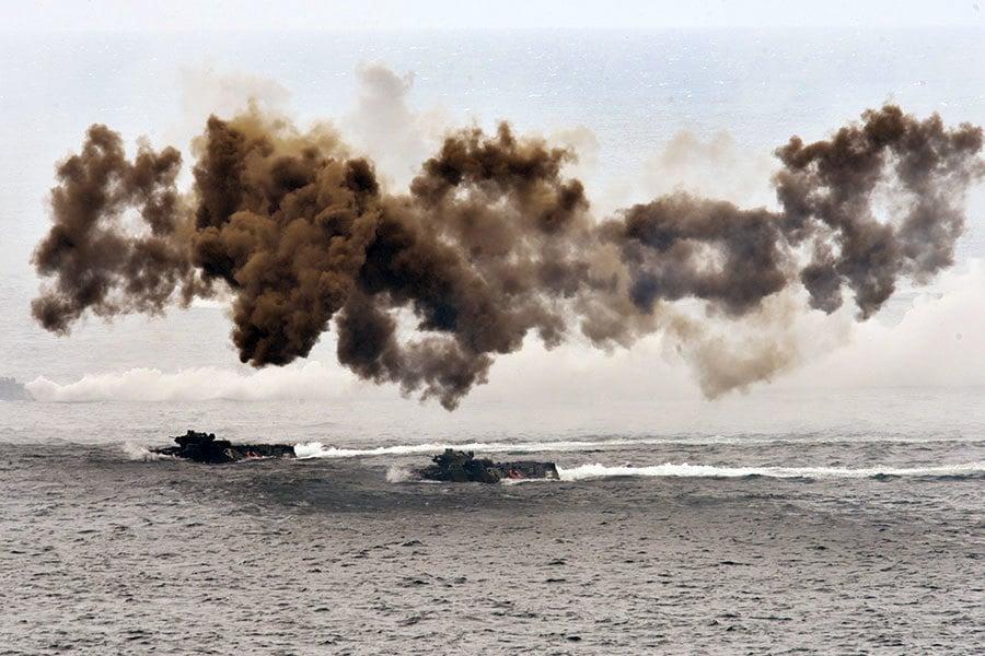 中共想在台海建隧道 千枚導彈對準台灣