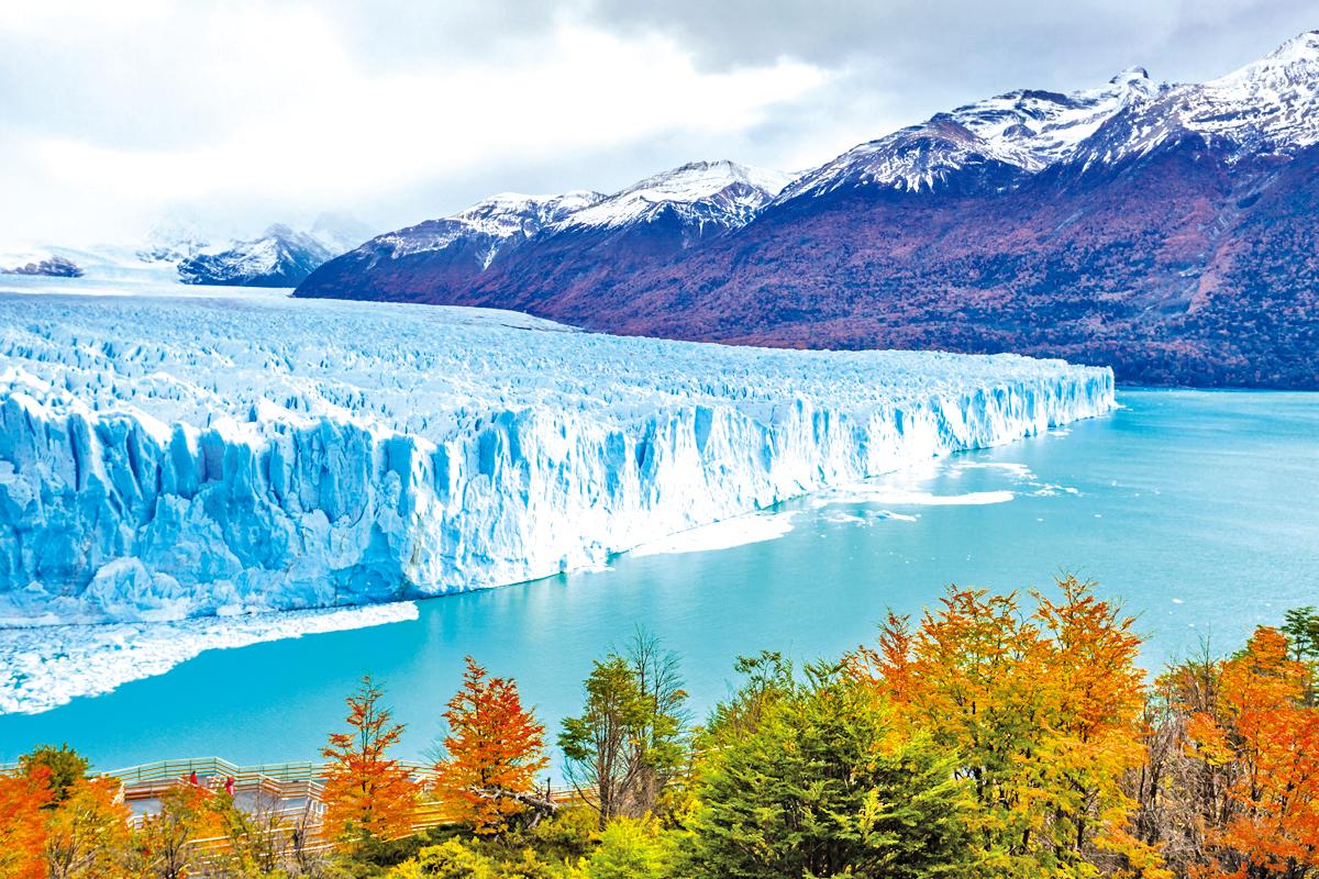 壯觀的佩里托莫雷諾冰川。(Fotolia)