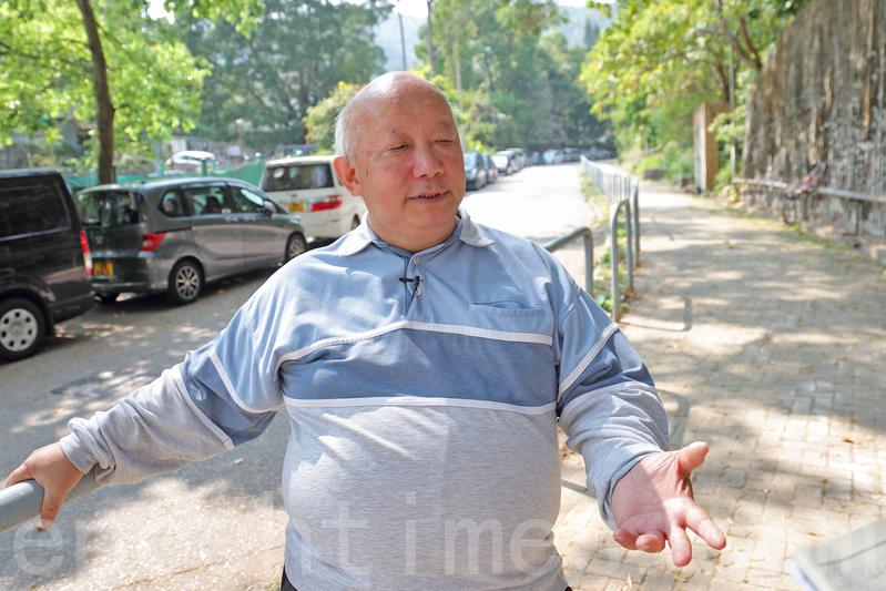 香港人權監察總幹事羅沃啟接受本報專訪。(李逸/大紀元)