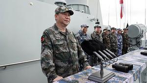 中美貿易緊張之際 習近平南海大閱兵