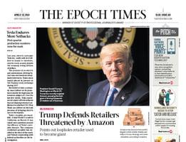 「特朗普總統天天看大紀元」 真實報道獲讚賞