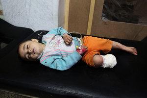 敘民眾:美英法空襲是懲罰阿薩德殺戮行為