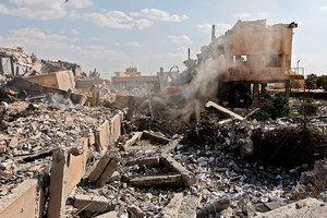 空襲敘利亞 美副總統及國會議員表支持