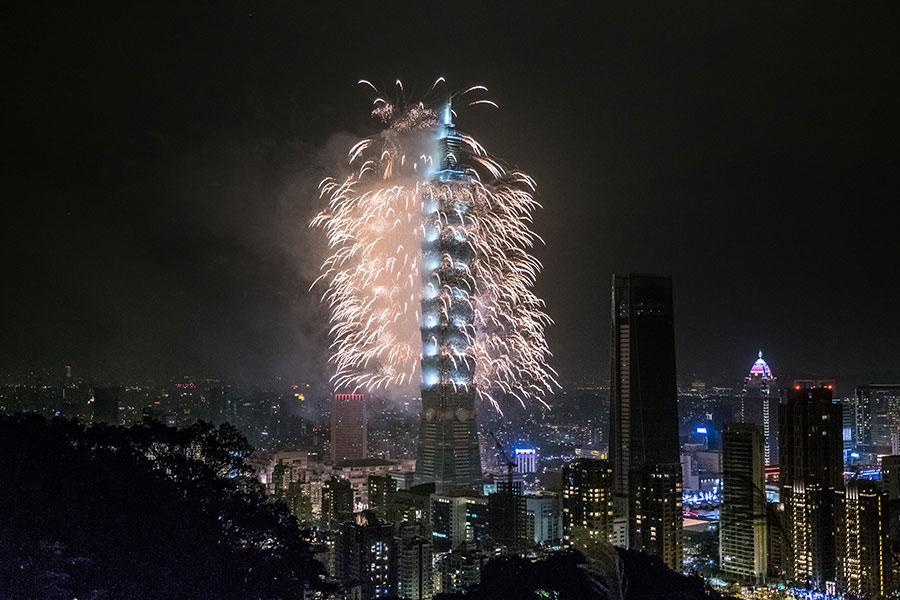 美國《紐約時報》於4月14日刊文指出,台灣已經取代香港,成為亞洲言論自由的堡壘。圖為台北101大樓。(Billy H.C. Kwok/Getty Images)