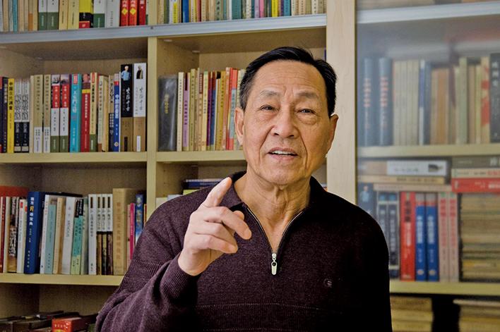 前趙紫陽政治秘書、前中共中央委員鮑彤