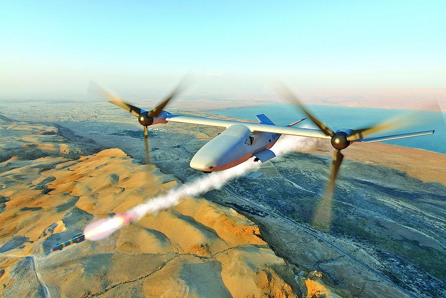 美擬建超級無人機戰鬥群