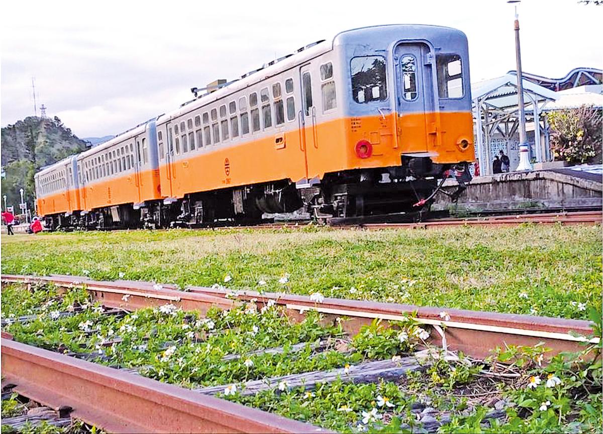 舊站車箱:台東舊車站車廂。