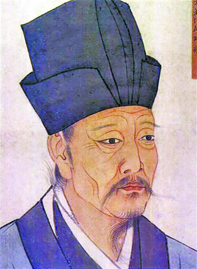 邵雍是北宋的理學家(公有領域)