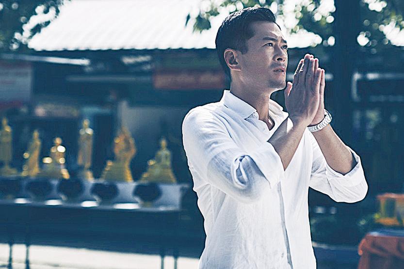 古天樂以電影《殺破狼.貪狼》,角逐今屆香港電影金像獎最佳男主角獎。(網絡圖片)