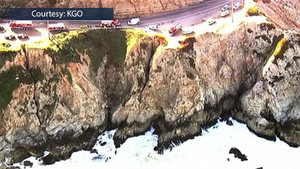 駕車從加州懸崖墜入太平洋 男子奇蹟生還