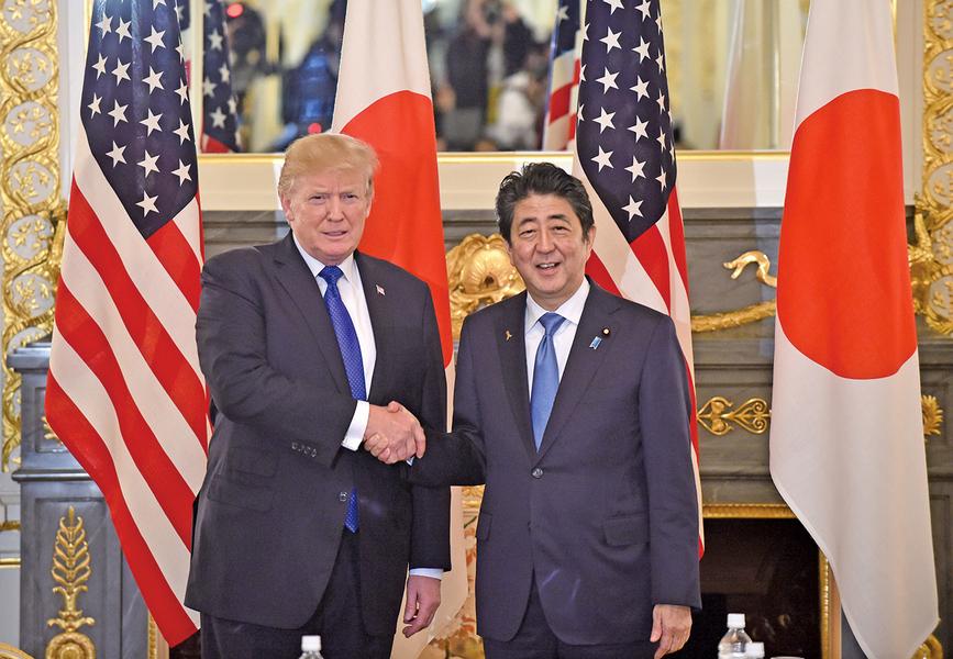 安倍訪美擬與特朗普確認 拒絕北韓無核的「階段性要求」
