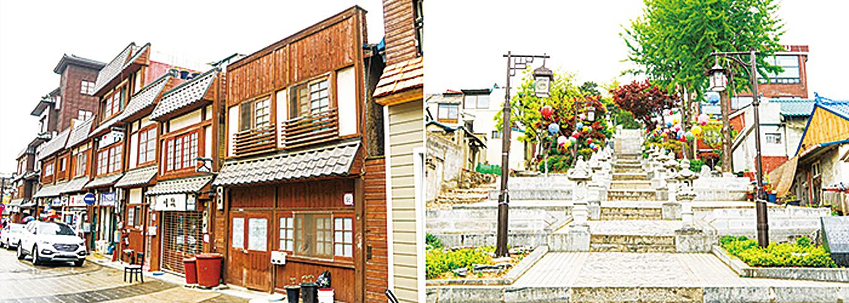 開港場街的日式建築。