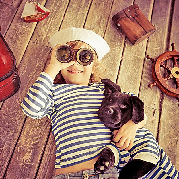 太陽、大地、星空和月亮,樹木,小草,還有蟲子……在孩子眼中,這是多麼奇妙的世界啊!(Depositphotos)