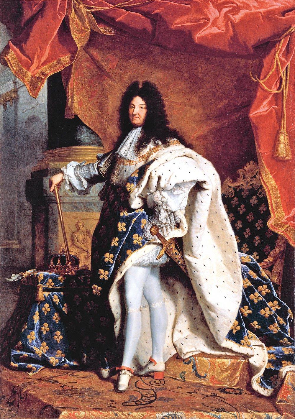 引領時代風潮的法國國王路易十四。(公有領域)