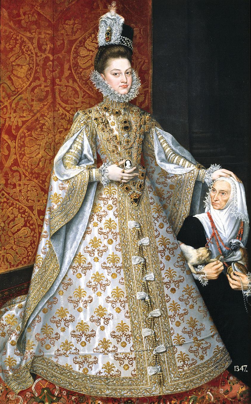 畫作The Infanta Isabella Clara Eugenia(F. DE LLANO, 1584),圖為西班牙公主伊莎貝拉,歐洲文藝復興時期。(公有領域)